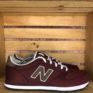 New Balance 311 burgundy/brown running shoe sz12